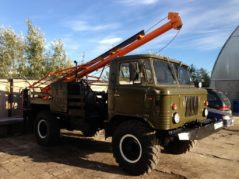 Ямобур-вездеход на базе ГАЗ-66